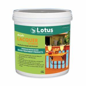 Sơn Phủ Bóng Gốc Nước Lotus Acrylic Lacquer