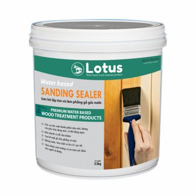 Sơn Lót Gỗ Làm Mịn Gỗ Sanding Sealer