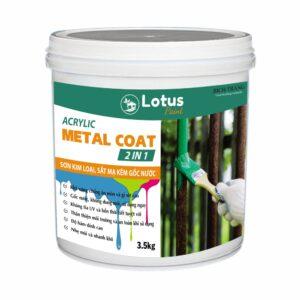 Sơn Kim Loại Đa Năng Metal Coat 2 in 1