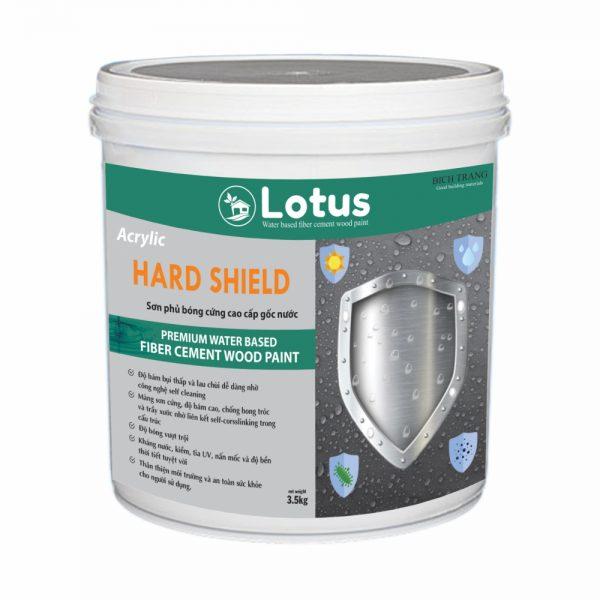 Sơn Phủ Bóng Cứng Cao Cấp Lotus Hard Shield