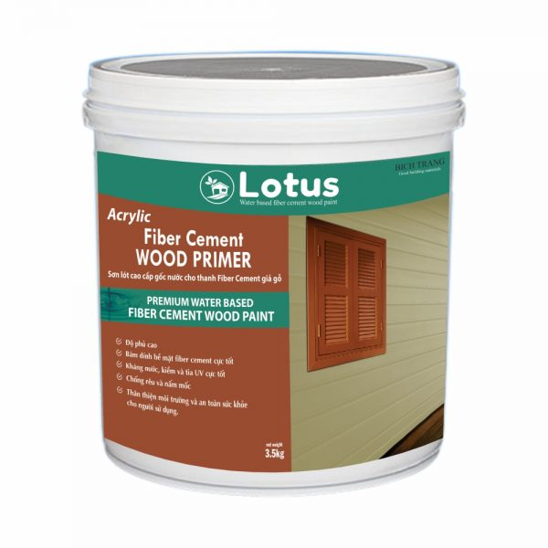 Sơn Lót Fiber Cement Giả Gỗ Cao Cấp Wood Primer