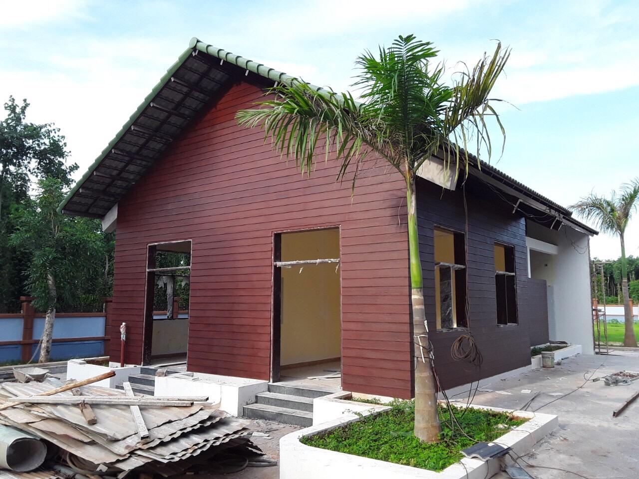 Bảng sản phẩm và ứng dụng của sơn giả gỗ cho thanh Fiber Cement