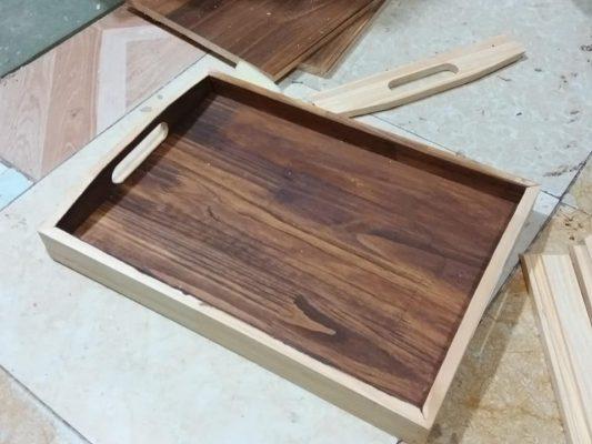 Hướng dẫn thi công stain màu và hoàn thiện gỗ 4