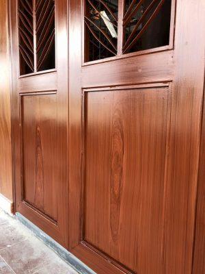 Hướng dẫn sơn sắt giả gỗ trên hộp sắt
