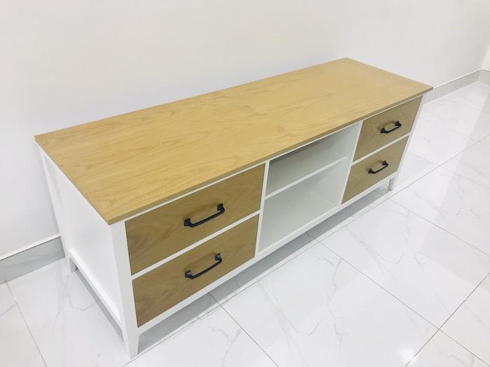 Sản phẩm sử dụng phương pháp phun màu trực tiếp lên gỗ