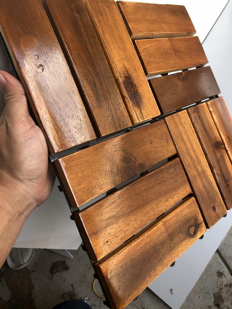 Quy trình sơn đồ gỗ cũ với sơn gỗ WoodStain Finish 5