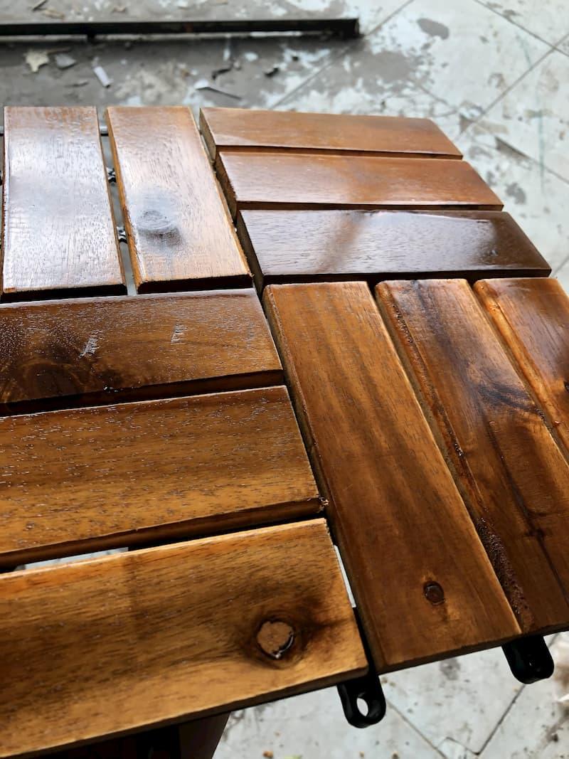 Quy trình sơn đồ gỗ cũ với sơn gỗ WoodStain Finish 6